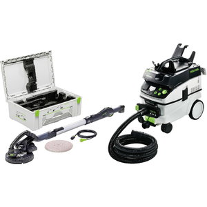 Long-reach sander LHS225-IP with dust extractor CTL36 - Set, Festool