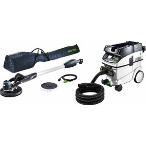Long reach sander PLANEX LHS-E 225 + dust extractor CTM 36 E, Festool