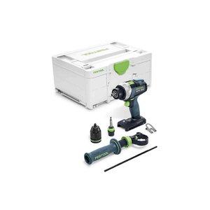 Cordless drill QUADRIVE TDC 18/4 I-Basic, Festool