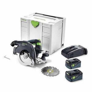 Cordless circular saw HKC 55 Li 5.2 EBA-Plus-SCA, Festool