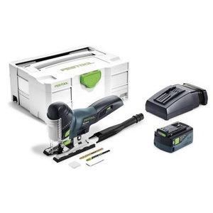 Akumulatora figūrzāģis PSC 420 EBI Li 18-Plus, Festool