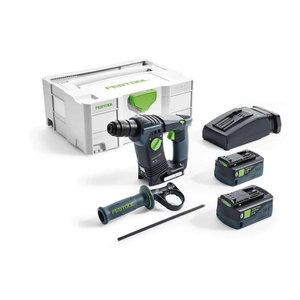 Akumulatora perforators BHC 18 Li Plus / 18V / 5,2Ah, Festool