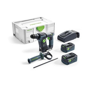 Akumulatora perforators BHC 18 Li Plus / 18V / 5,2Ah, Festool