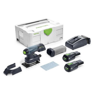 Cordless sander RTSC 400 Li Plus / 18V / 3,1Ah, Festool