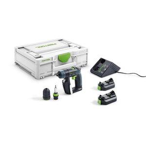 Akumulatora urbjmašīna CXS Plus / 10,8 V / 2,6 Ah, Festool