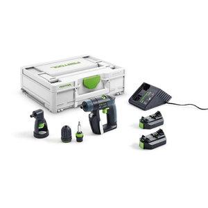 Akumulatora urbjmašīna CXS Set / 10,8 V / 2,6 Ah, Festool