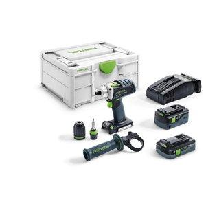 Akumulatora urbjm. DRC 18/4 I-Plus-SCA / 18V / 5,2Ah/4,0Ah, Festool