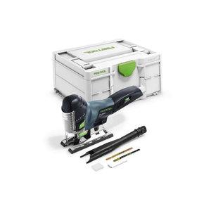 Cordless jigsaw CARVEX PSC 420 EB-Basic, w.o.battery/charger, Festool