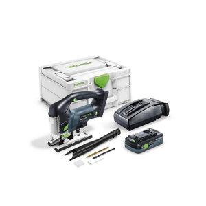 Akuga tikksaag CARVEX PSBC 420 HPC EBI Plus, 18V / 4,0Ah, Festool