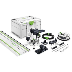 Frezeris OF 1010 EBQ-Set+Box-OF-S, Festool