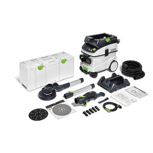 Long-neck sander PLANEX LHS 2 225 + CTL 36 Set, Festool