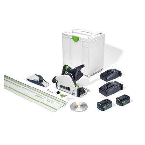 Akusukelsaag TSC 55 5,2 KEBI-Plus/XL-FS koos juhtsiiniga, Festool