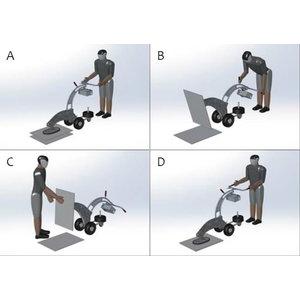 Plokščių klojimo sistema, vakuuminė FXM-30, Probst