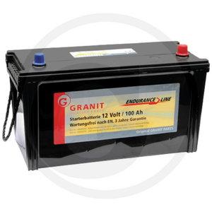 Battery 12V 100Ah, AL75644, AL205731, AL202640, Granit