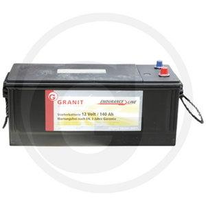 Battery 12V 140Ah  TY26782, TY26102, AL210285, AL119622, Granit
