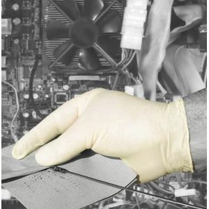 Gloves, latex, not powdered, disposable, 100pcs/pack 8/M, Gloves Pro®