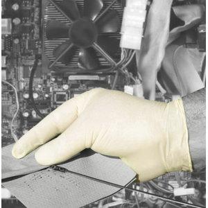 Kindad, lateks, puudrivaba, ühekordsed, 100tk/pakk 8/M, Gloves Pro®