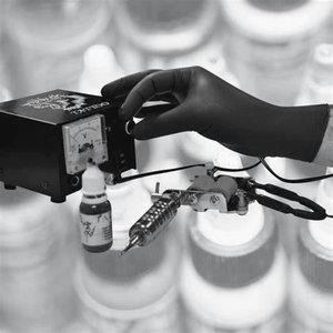 Kindad, nitriil, puudrita, ühekordsed, 100tk/pakk, must, Gloves Pro®