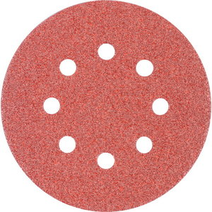 Velcro discs KSS 8 hole 125mm P60, Pferd