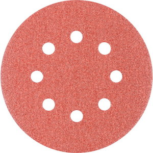 Diskas velcro 125mm P80 8 skylės KSS