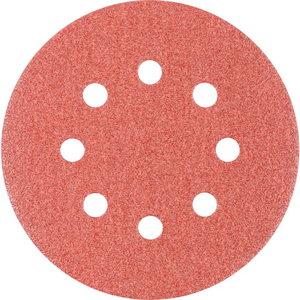 Velcro discs 125mm P80 8 hole KSS, Pferd