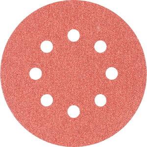Diskas velcro 125mm P100 8 skylės KSS