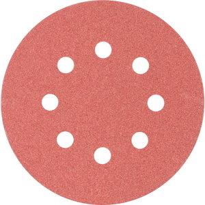 Velcro discs KSS 8 hole 125mm P120, Pferd