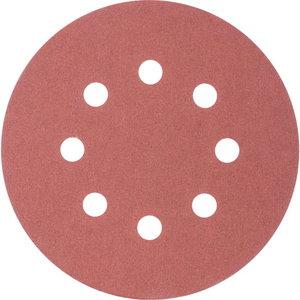 Šlif.pop.eksc. d-125mm P240 Velcro (Hookit) 8 hole