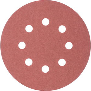 Velcro discs 125mm P240 8 hole KSS, Pferd