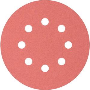 Velcro discs 125mm P320 8 hole KSS, Pferd