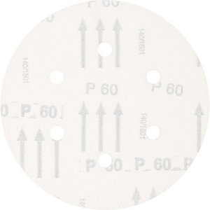 Smilšpapīrs 150 mm P60 6 hole, Pferd