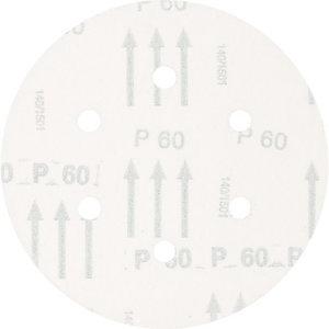 Slīpdisks velcro 150mm P60 atveres KSS