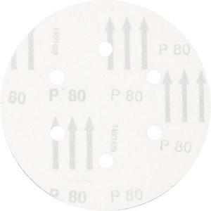 Diskas velcro 150mm P80 6 skylės KSS, Pferd