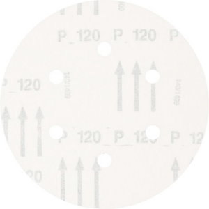 Velcro discs  150mm P120 KSS 6 L A 6 hole, Pferd