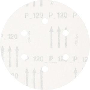 Slīpdisks velcro 150mm P120 6 atveres KSS, Pferd