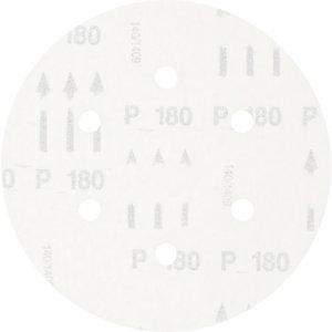 Šķiedrdisks ar līplenti 150mm P180 KSS 6 holes, Pferd