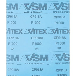 Abrazīvais papīrs 230x280mm SIC 1000 BP W, Pferd