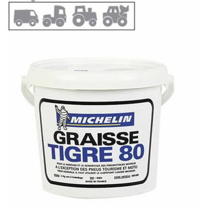 Tyre mounting grease  4kg TIGRE 80, MICHELIN