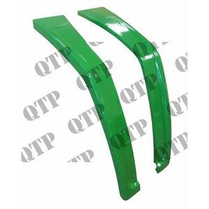 Poritiibade komplekt metallist L77510 + L77511 JD, Quality Tractor Parts Ltd