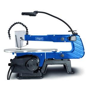 Jõhvsaag Deco XLS / pedaallülitiga, Scheppach
