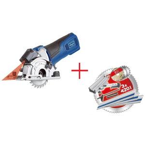 Compact circular saw PL285 + accessories, Scheppach