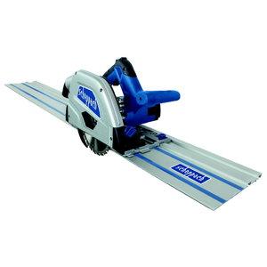 Plunge saw, with battery PL 55Li + 2x700 mm guiderail, Scheppach