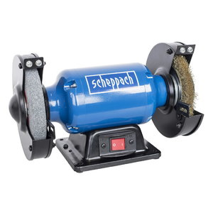 Bench grinder / wire wheel SM 150LB, Scheppach