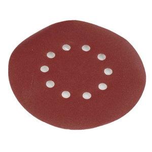 Round sanding paper 215mm, grit 240 - 10pcs. DS 920 / 930, Scheppach