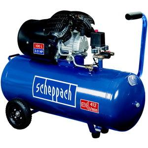Stūmoklinis kompresorius HC 120dc / 100L, Scheppach
