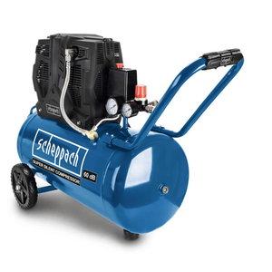 Oilfree compressor HC 51Si, silent, Scheppach