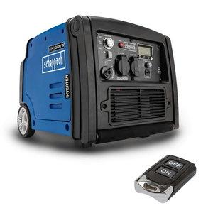 Invertora tipa strāvas ģenerators SG 3400i, Scheppach
