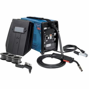 Suvirinimo aparatas MIG WSE 3200 + priedai, Scheppach
