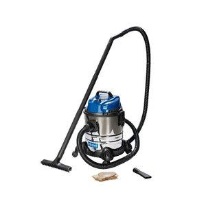 Wet & dry vacuum cleaner ASP 20-ES, blower function, Scheppach