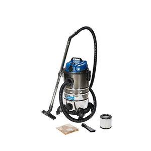 Wet & dry vacuum cleaner ASP 30-ES, blower function, Scheppach